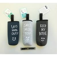 #Bottle cover 500 smily