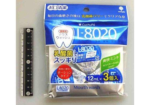 L-8020 Mouthwash 12ml x3p