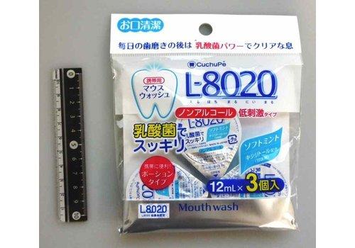 L-8020 Mouthwash W alcohol free 12ml x3p
