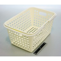 Cute basket white