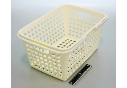 Cute basket white