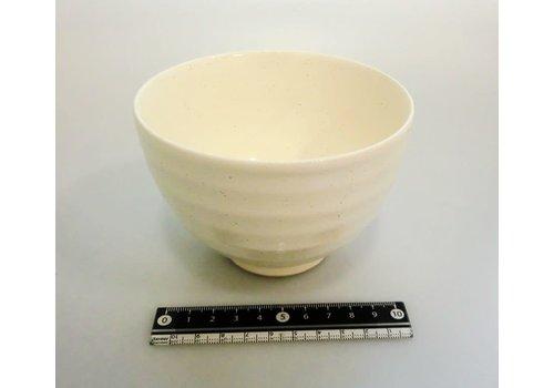 Small rice bowl white glaze
