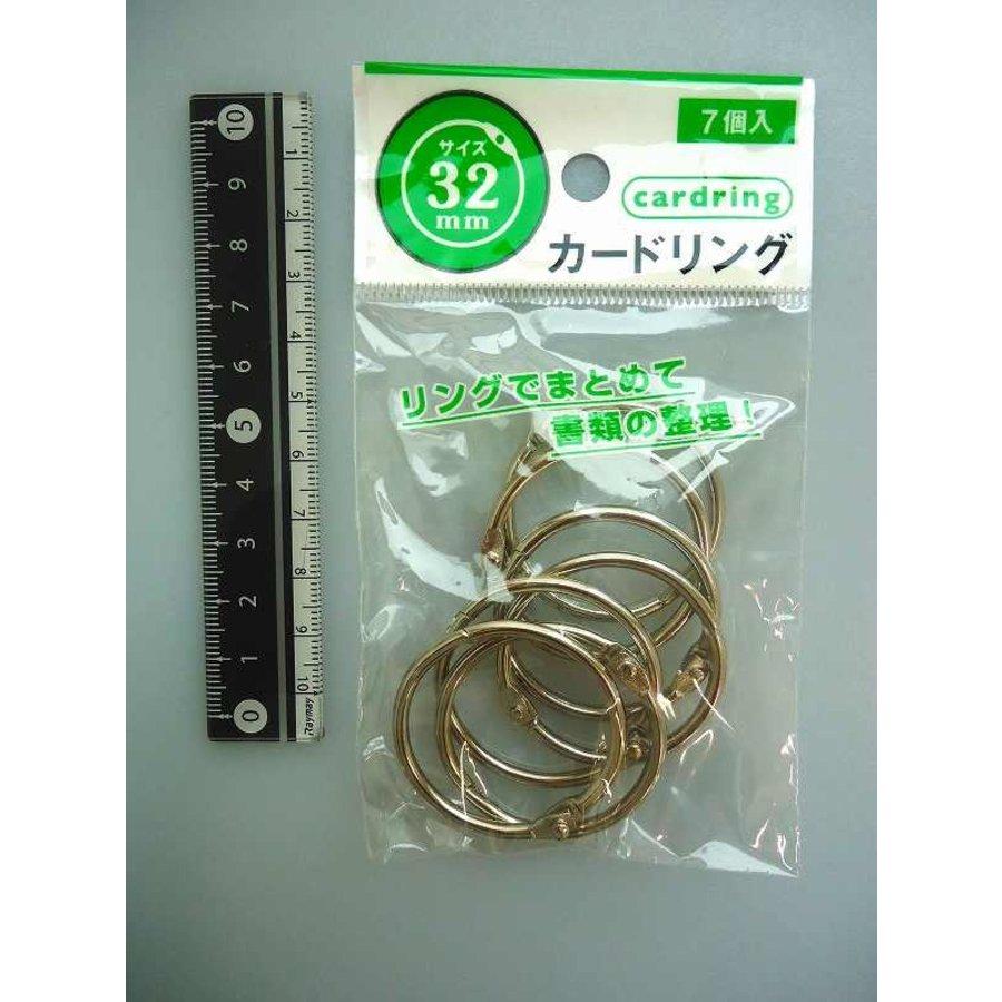 Card ring 32mm(No.2) 7p-1