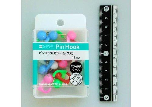 Pin hook color mix 15p