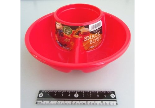 Snack bowl red