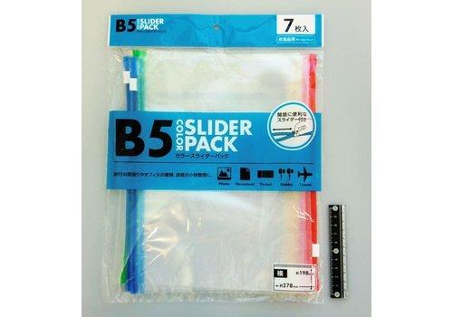 Color slider pack B5 horizontal 7p