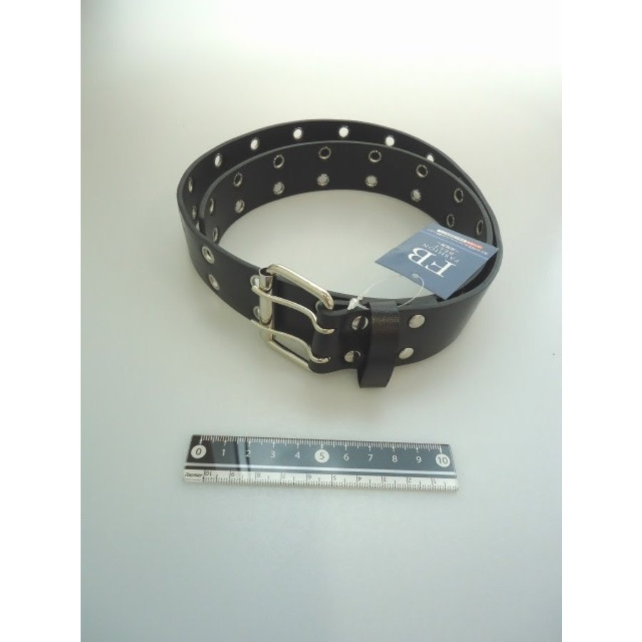 Fashion belt wide black-1