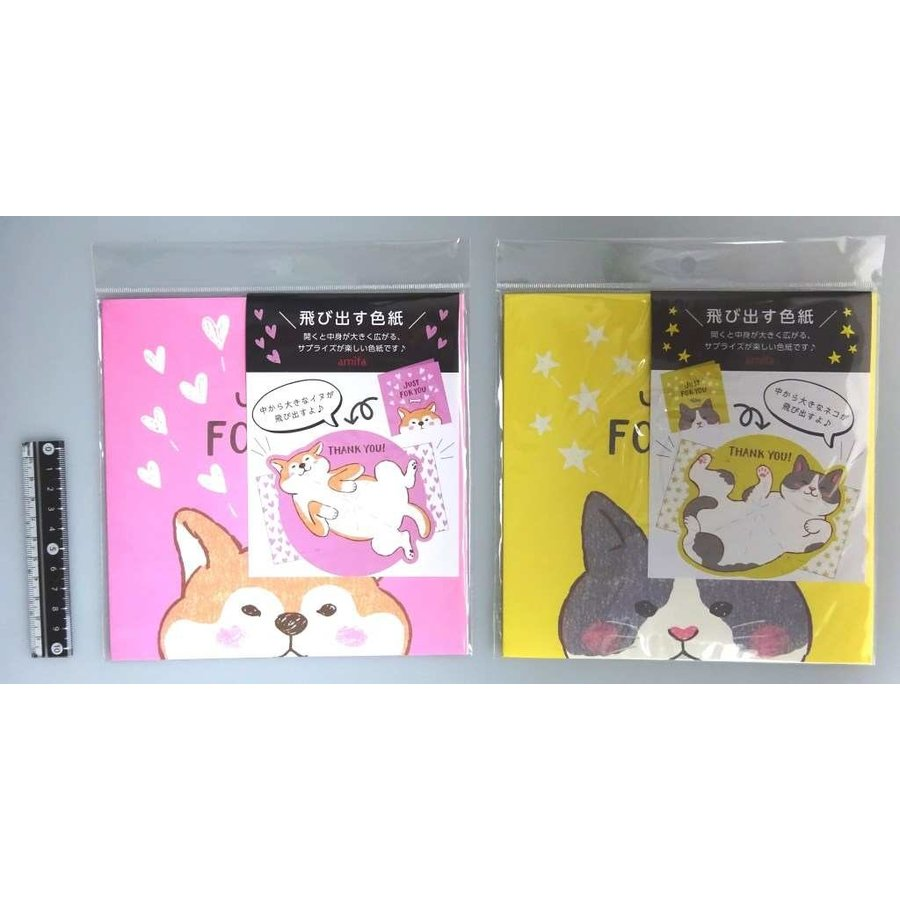 Folding autograph plate pop-up animals-1