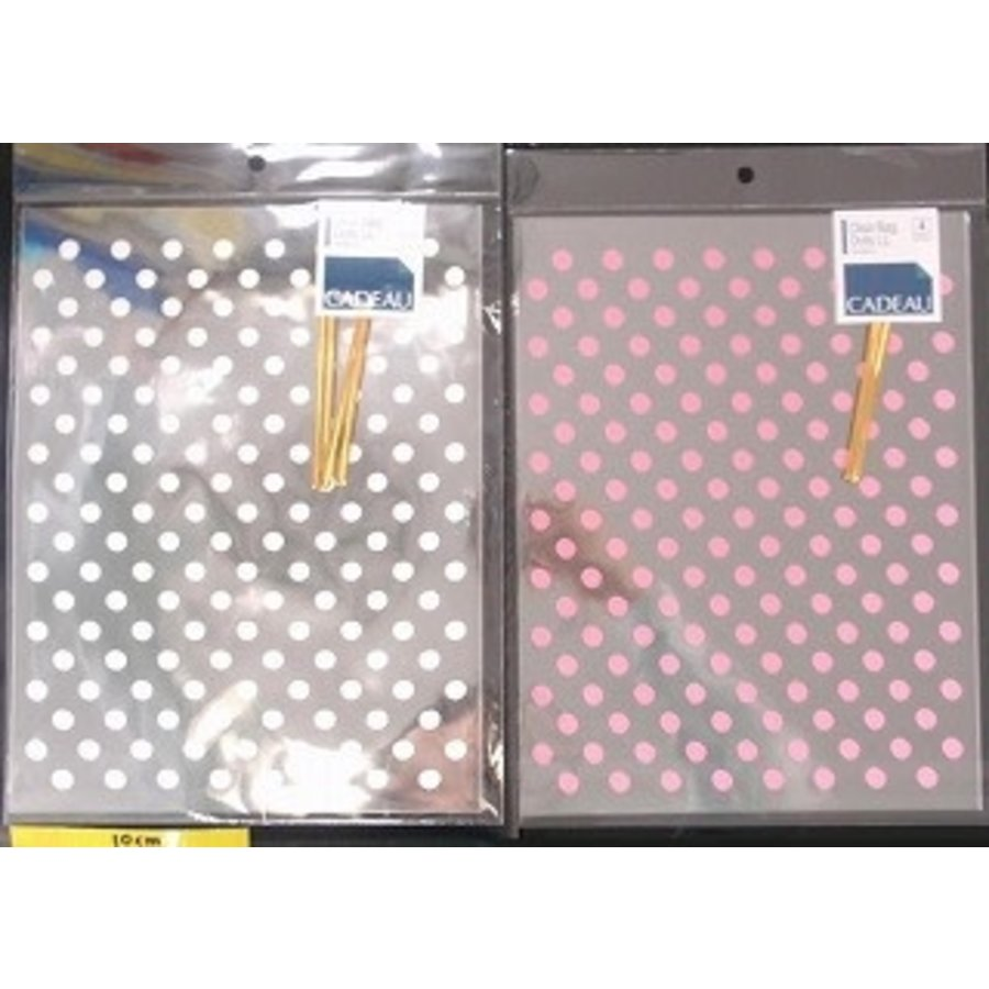 Clear bag LL dot 4p : PB-1