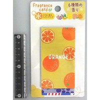 Card with scent 6p : PB