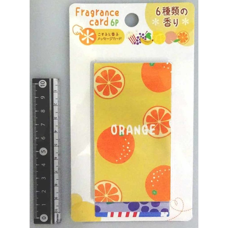 Card with scent 6p : PB-1