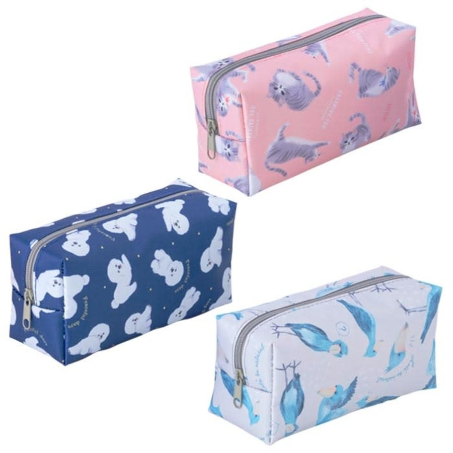 D Animal simple pouch-1