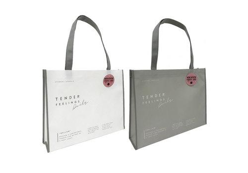 Non-woven bag L simple logo