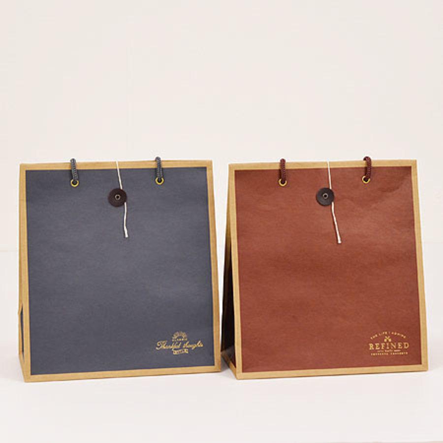 Color kraft paper bag M-1
