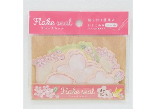 Flake seal sakura