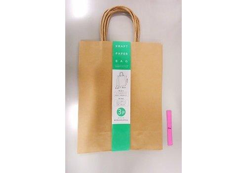 Craft paper bag M 3p