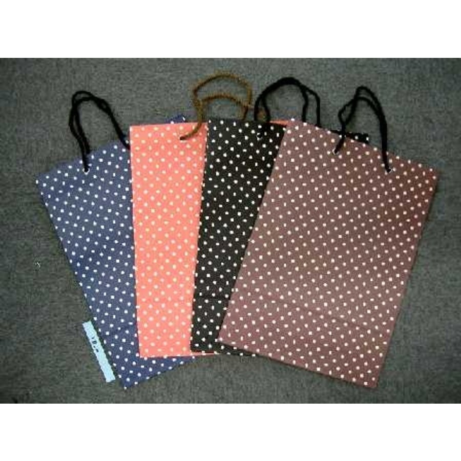 Paper bag LL longitudinal dot-1