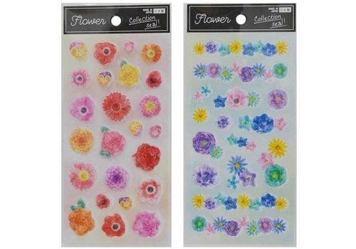 """Collection sticker """"flower"""""""