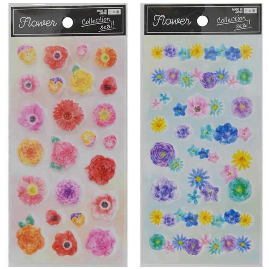"Collection sticker ""flower""-1"