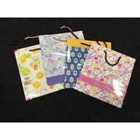 Paper bag M flower