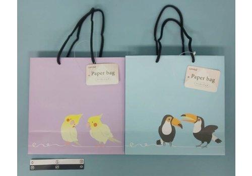 Paper bag birds