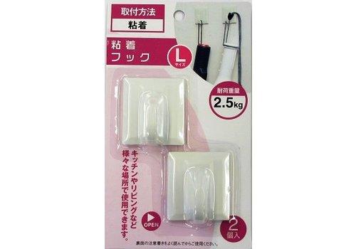 Plastics kitchen sticking hook L : PB