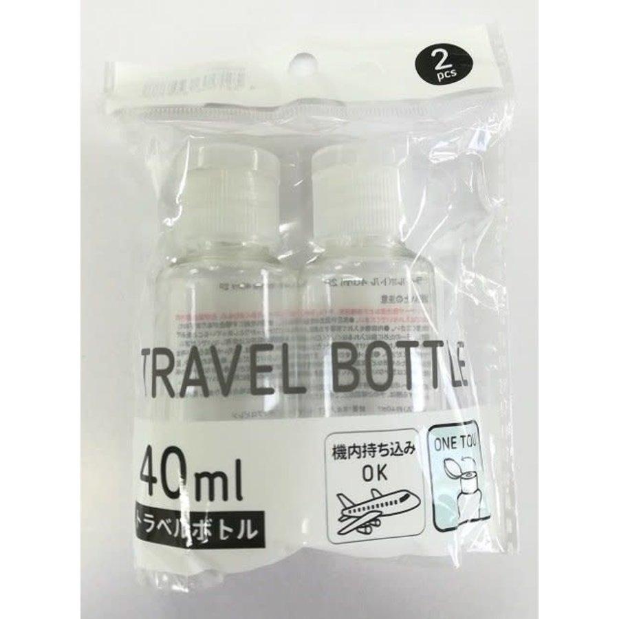 2C travel bottle 40ml 2p : PB-1