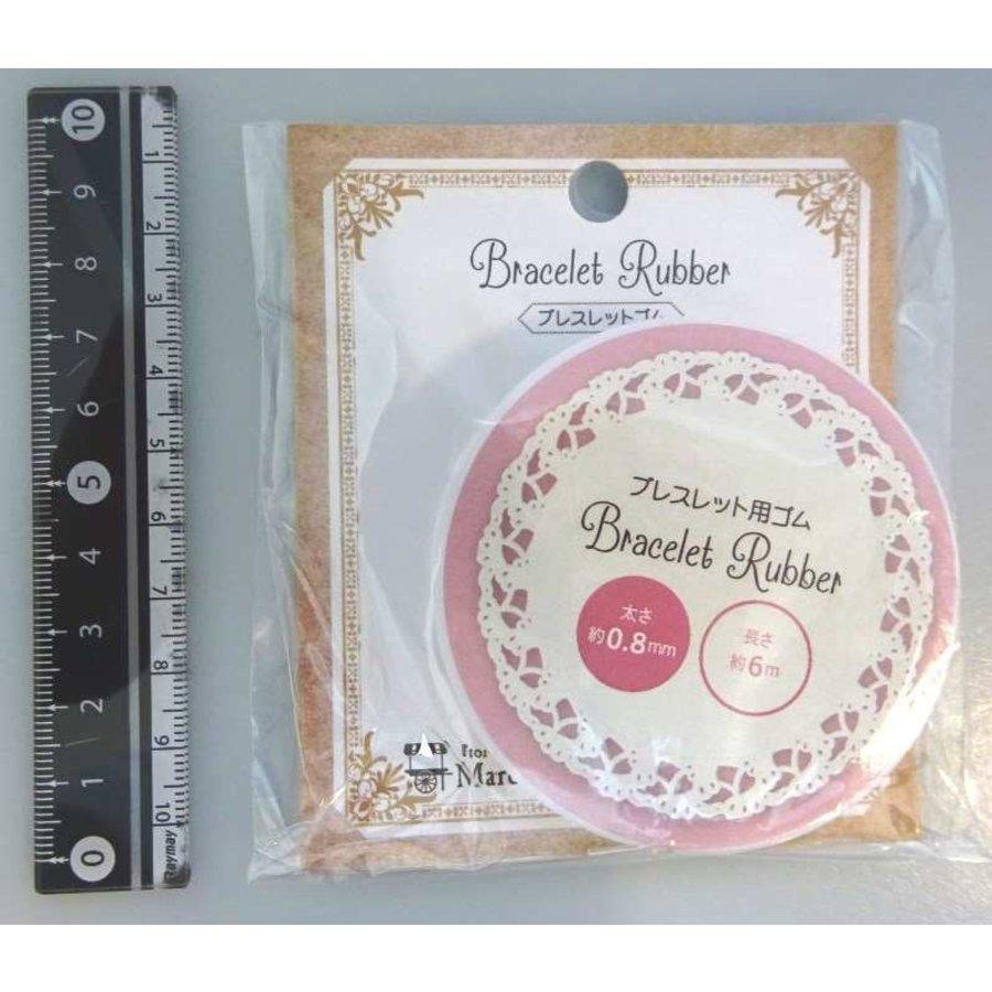 Bracelet elastics 0.8mm x 6m : PB-1