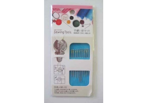 Hand sewing needle for normal cloth 10p : PB