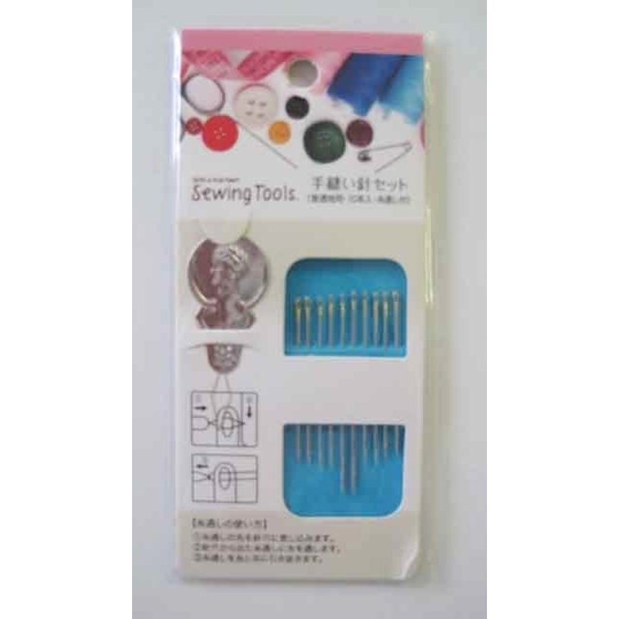 Hand sewing needle for normal cloth 10p : PB-1