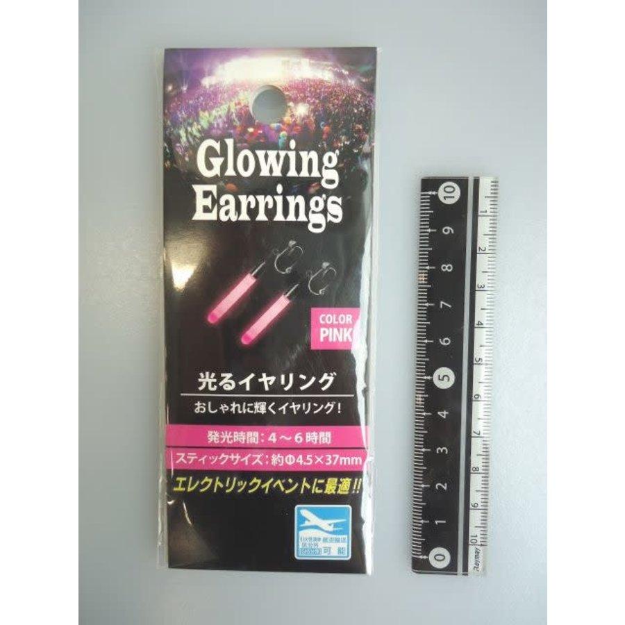 Glowing ear ring pink : PB-1