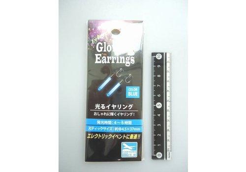 Glowing ear ring blue : PB