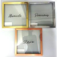 Clear art frame metallic: PB