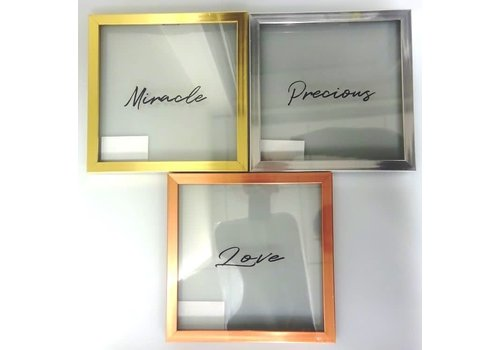 Clear art frame metallic: PB
