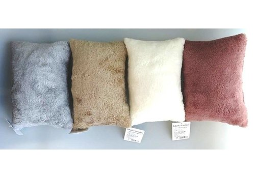 Fake fur cushion: PB