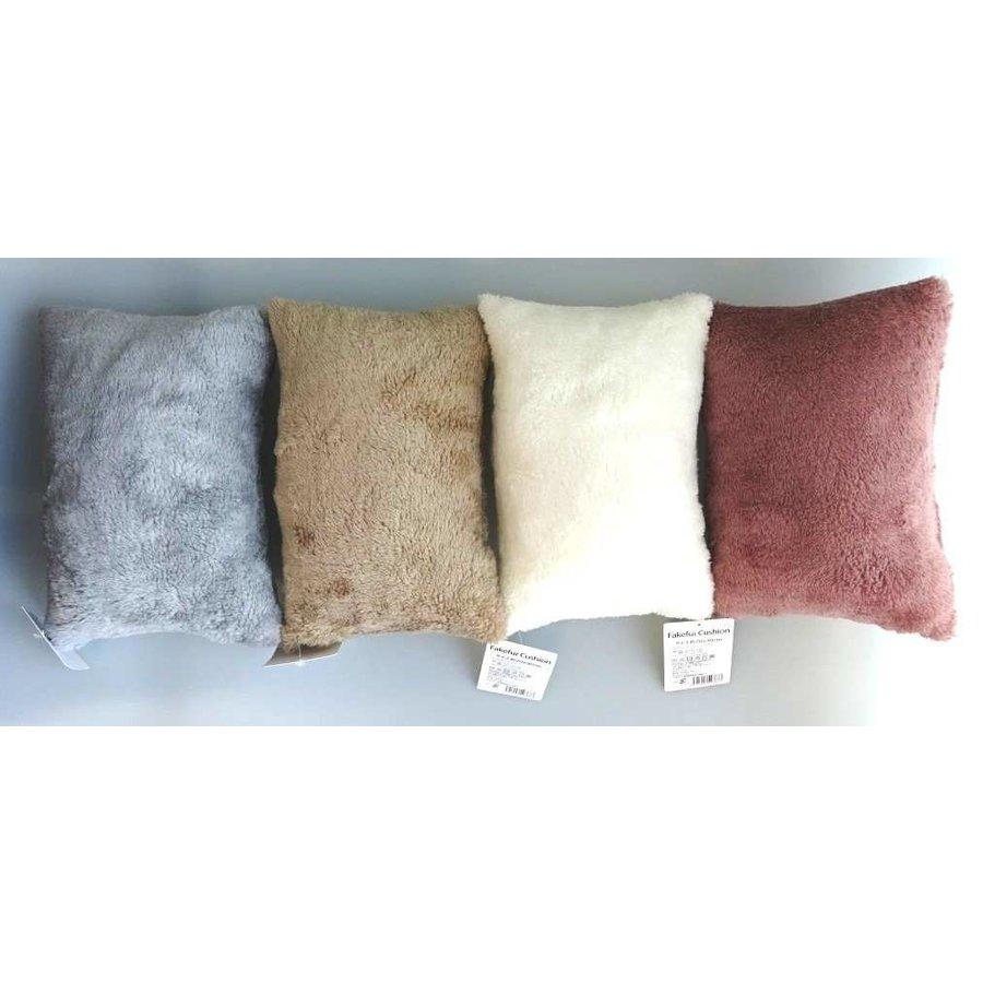 Fake fur cushion: PB-1