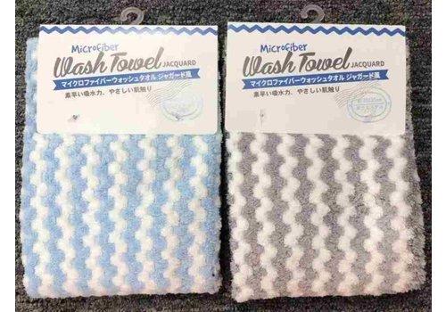 Micro F wash towel jacquard