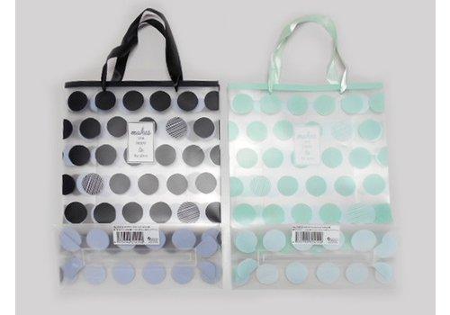 Clear handle bag M dot
