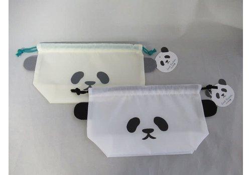 Panda pattern lunch animal drawstring