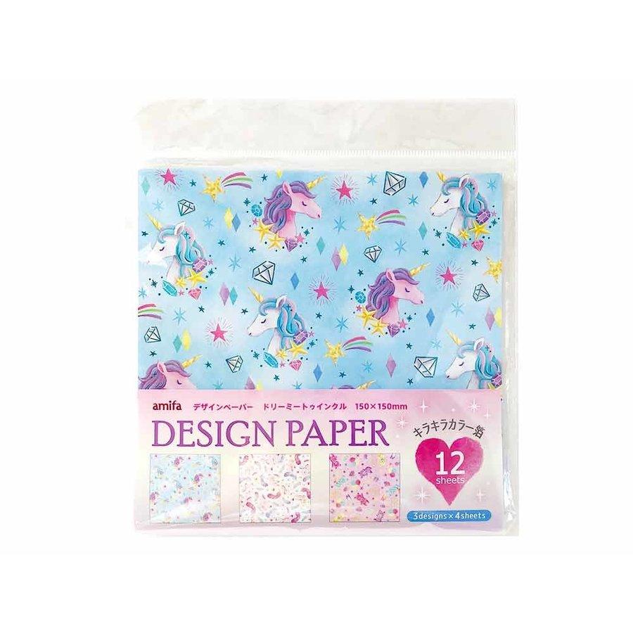Design paper 12P dreamy-1