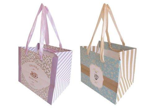 Handle bag S French tea room