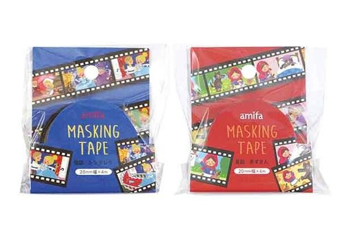 Masking tape fairy tale