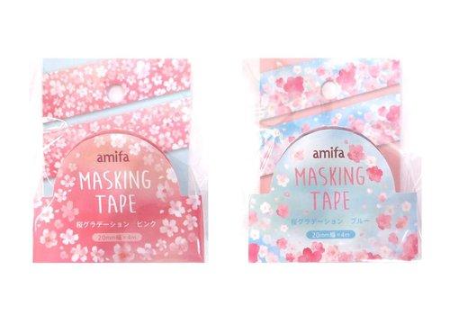 Masking tape ''sakura gradation''