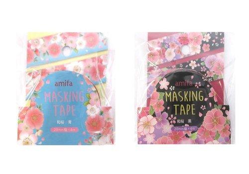 Masking tape ''Japanese cherry tree''