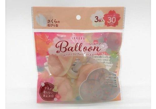 Confetti balloon sakura 3P