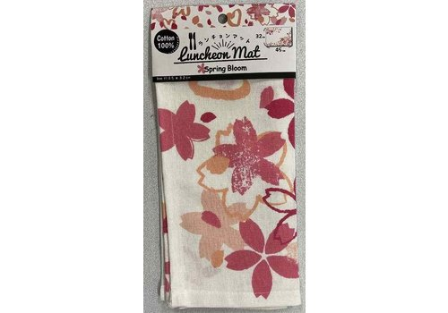 Place mat (cherry blossom pattern)