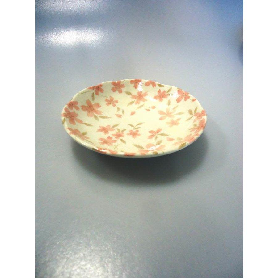Coarse textured cherry blossom 35 dish-1
