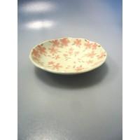 Coarse textured cherry blossom 40 dish