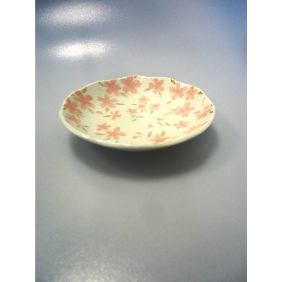 Coarse textured cherry blossom 40 dish-1