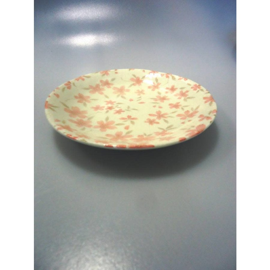Coarse textured cherry blossom 50 dish-1